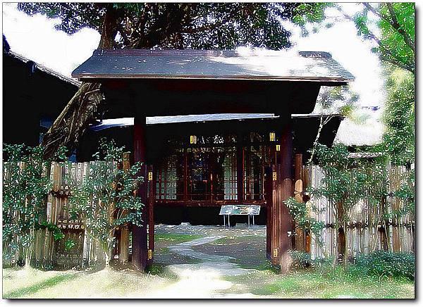 臺灣總督官邸內的日式和館