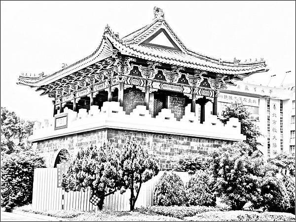 台北府城南門(麗正門)
