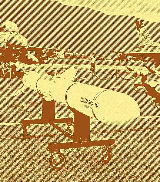 AGM-84G Harpoon Anti-ship Missile