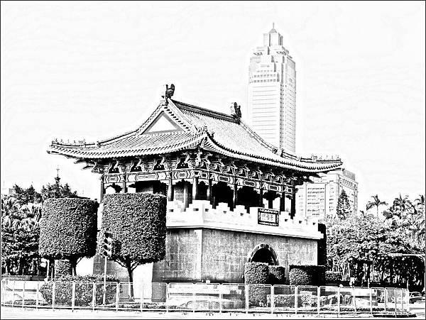 台北府城東門(景福門)