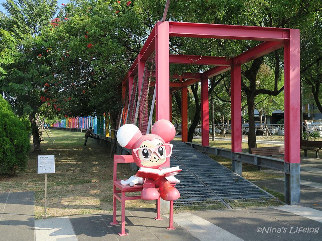 台南新營|七彩長廊、美術園區