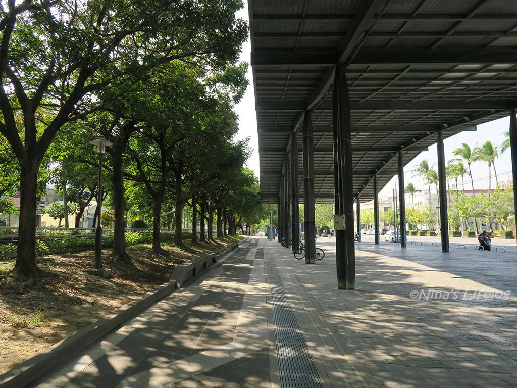 台南新營 七彩長廊、美術園區