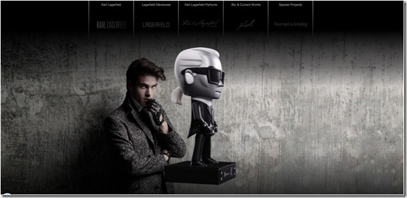 Karl Lagerfeld website