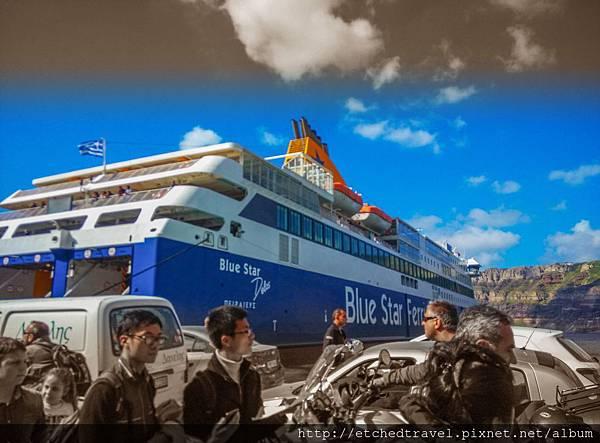渡輪 Bluestars Ferry