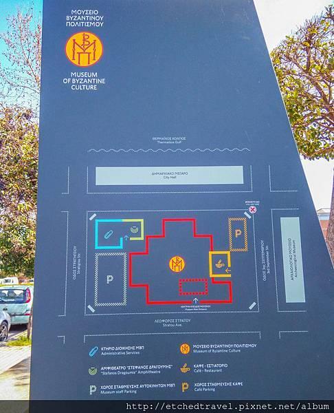 博物館地圖 Map of Museum
