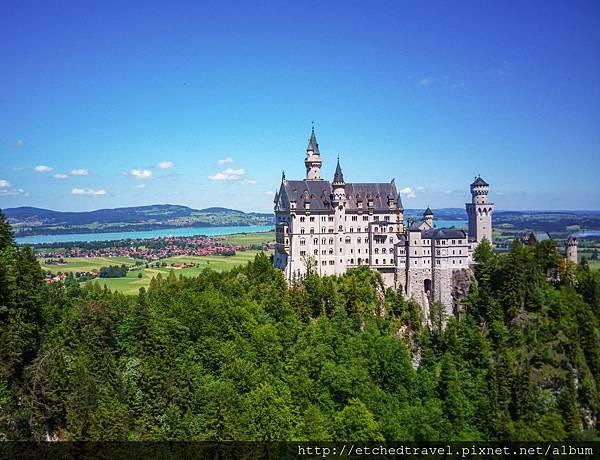 新天鵝堡 Schloss Neuschwanstein