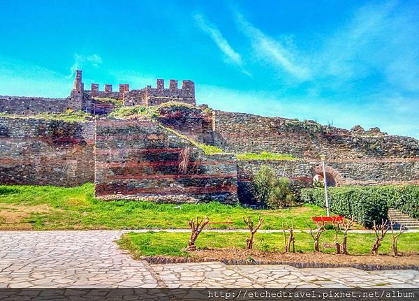 城牆 Byzantine Wall