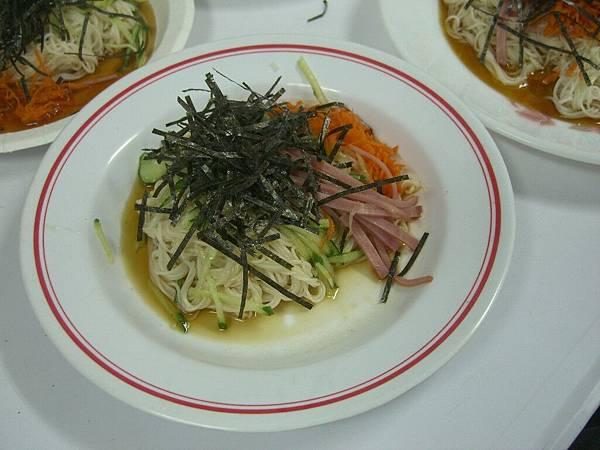 日式涼麵成品