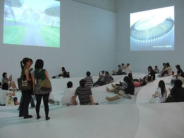 北市美術館伊東豐雄展覽