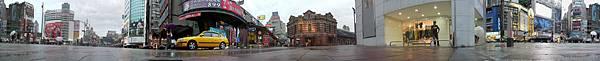 西門町,紅樓戲院附近全景圖