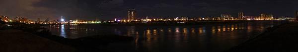 河濱公園夜景