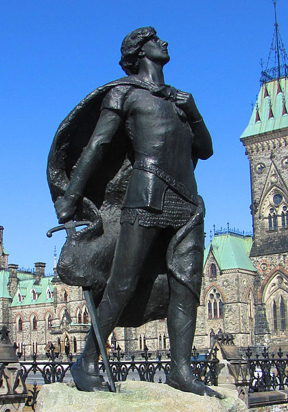 420px-Sir_Galahad_statue