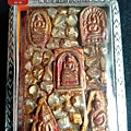 五大古佛崇笛佛 帕洛等此佛牌長久沐浴佛寺加持加量圓滿珍藏至今有161年