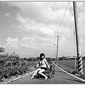 小惡魔老師的人像寫真-鄉間。夏日。田野