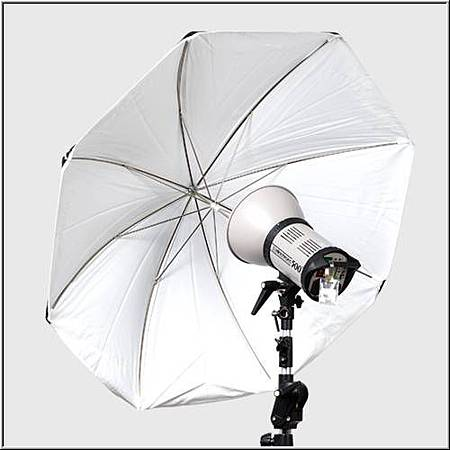 EL26375  白色柔光傘105cm