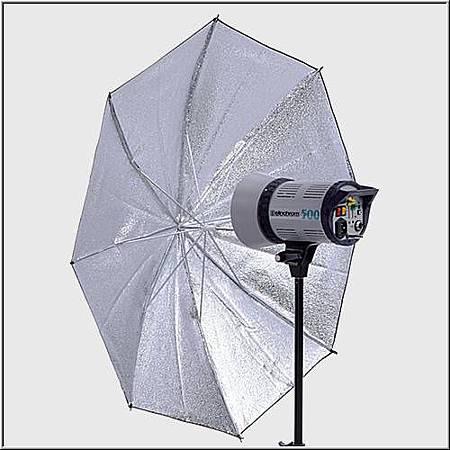 EL26361  銀色強光傘105cm