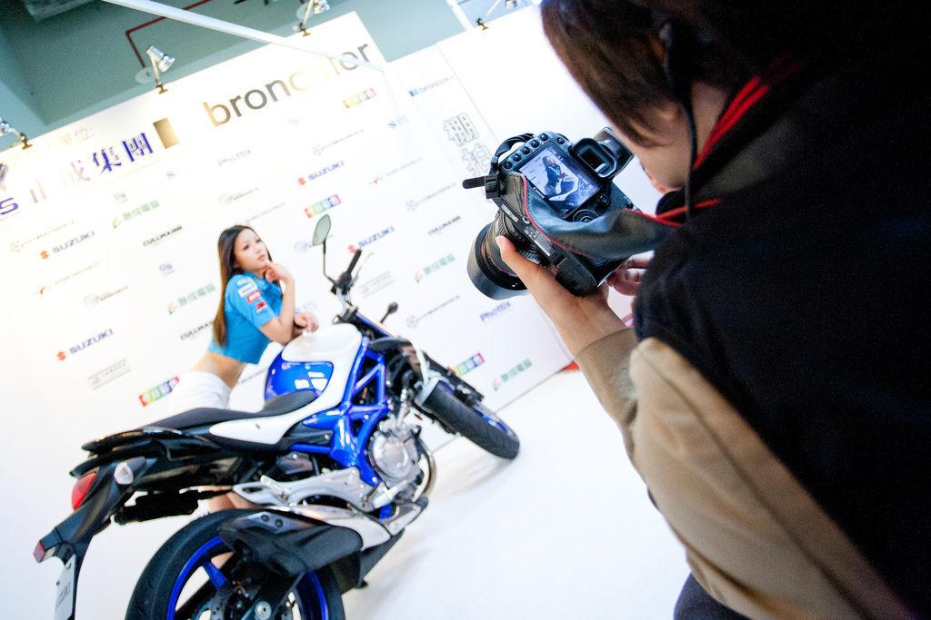 2012 台北國際攝影器材大展-Day2- 重機拍攝教學