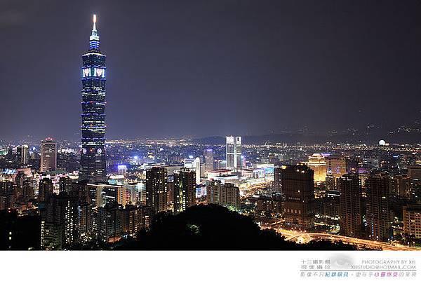 【風景攝影】台北101夜景-吳鎮宇攝
