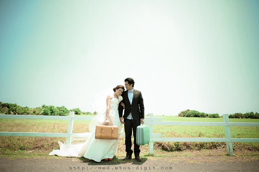 【自助婚紗攝影】【推薦】森林綠景主題-韓風1