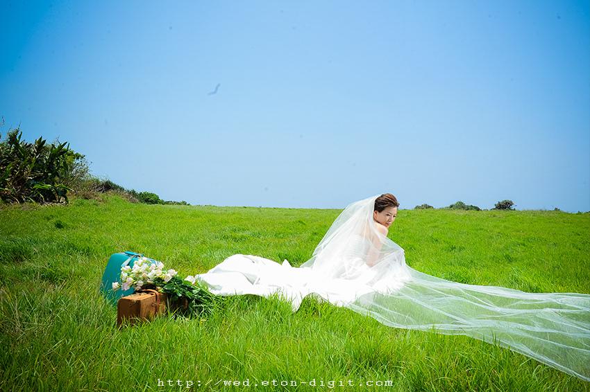 【自助婚紗攝影】【推薦】森林綠景主題-韓風4