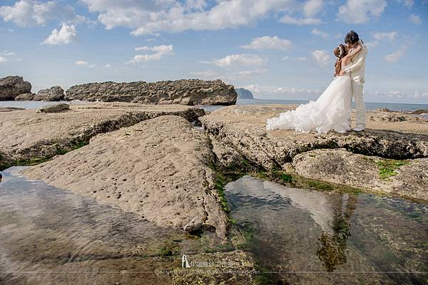 海邊拍婚紗