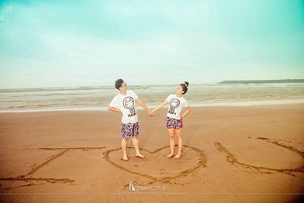 沙灘婚紗便服