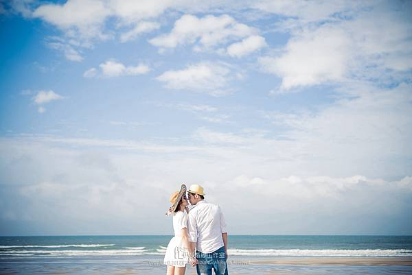 海灘婚紗_白雲
