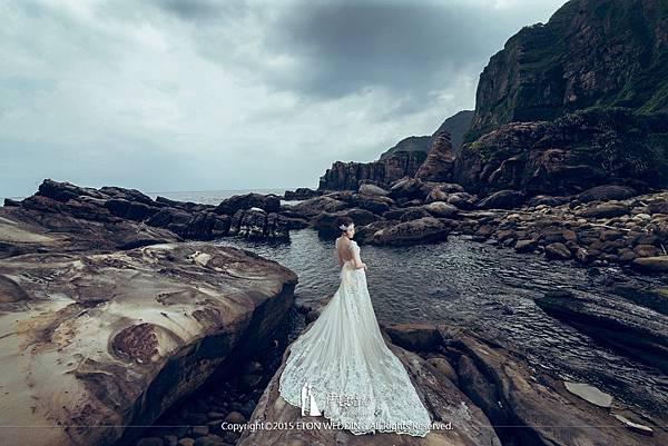 海邊拍婚紗_女生單人