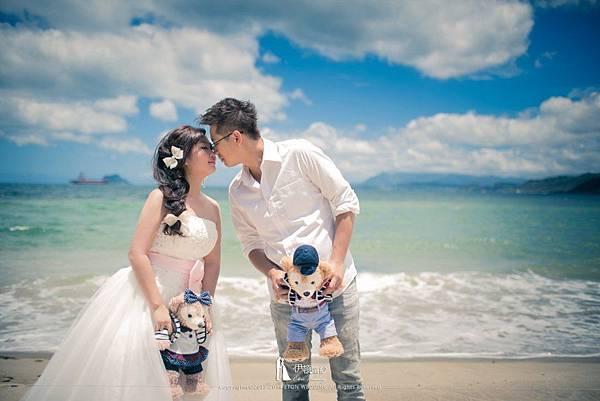 海邊婚紗_娃娃