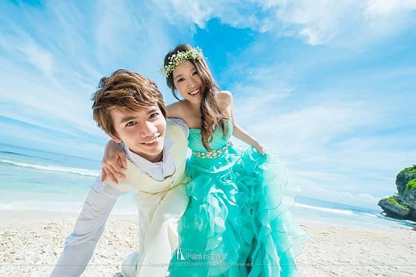 沙灘_拍婚紗