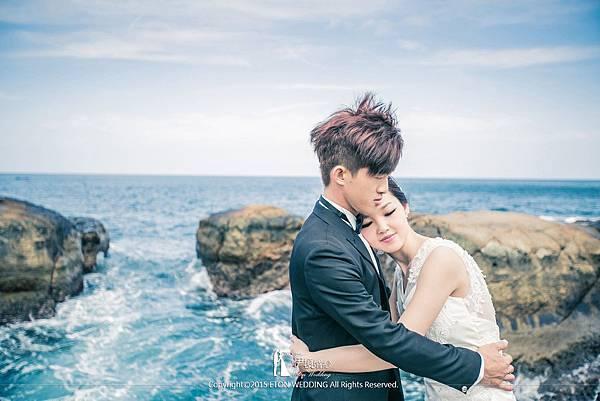 海邊婚紗西裝