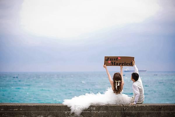 海邊婚紗_字牌