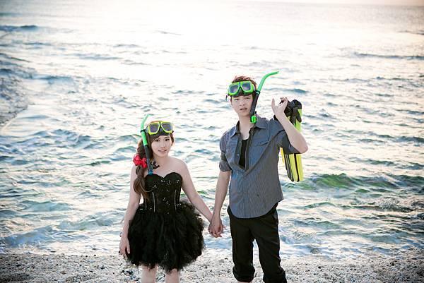 綠島拍婚紗