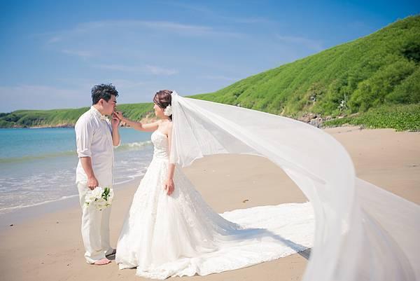 沙灘婚紗攝影