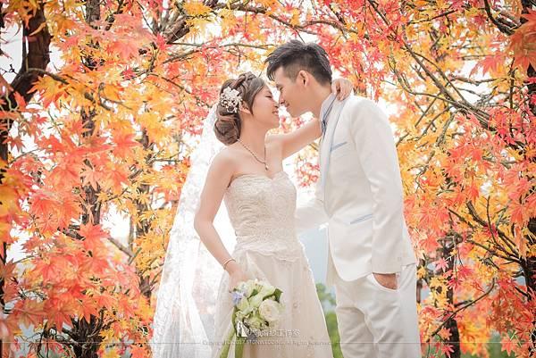 秋天拍婚紗