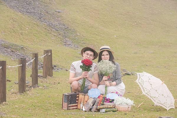 清境農場拍婚紗