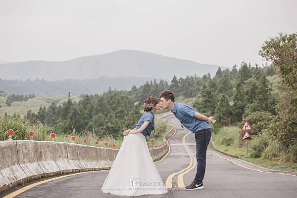陽明山婚紗拍攝