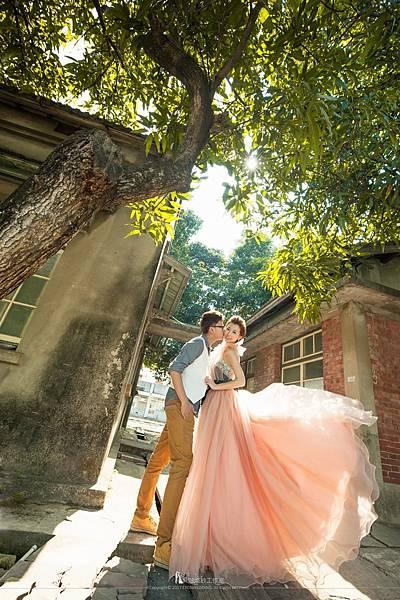 新娘婚紗照動作