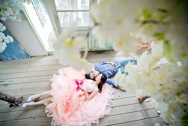 外拍婚紗照姿勢