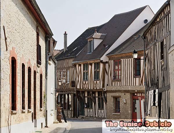 Colombage_ville_haute_Provins
