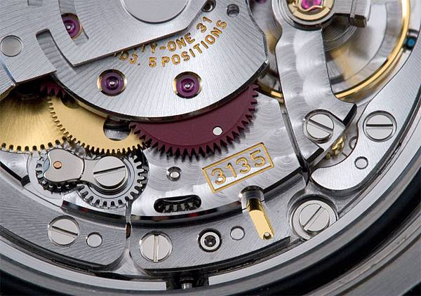 rolex movement