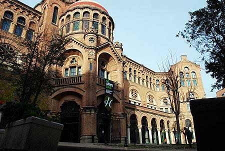 Fachada lateral Sant Pau