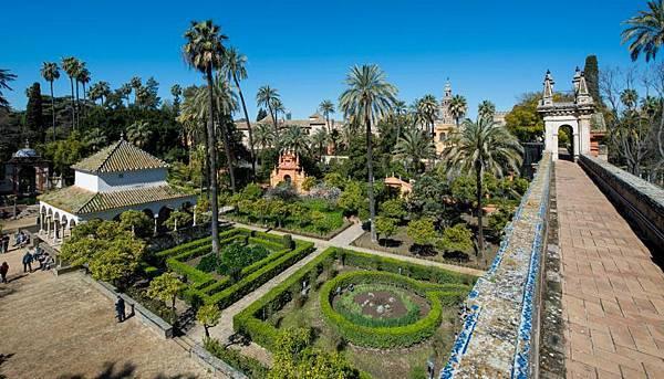 Alcazar宮.西班牙