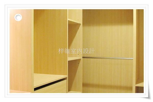 林口室內設計、更衣室裝潢