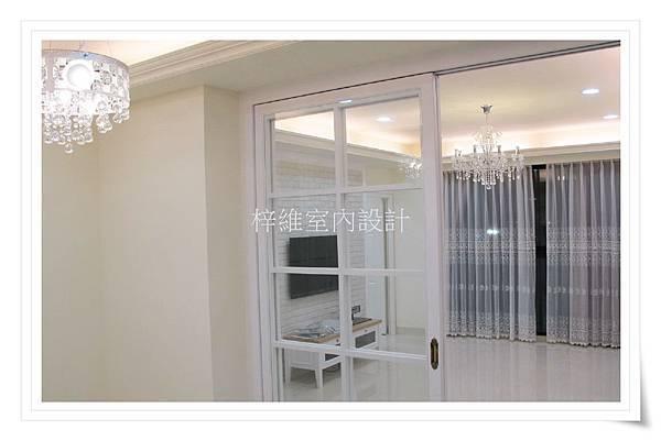 林口室內設計、客廳木工裝潢
