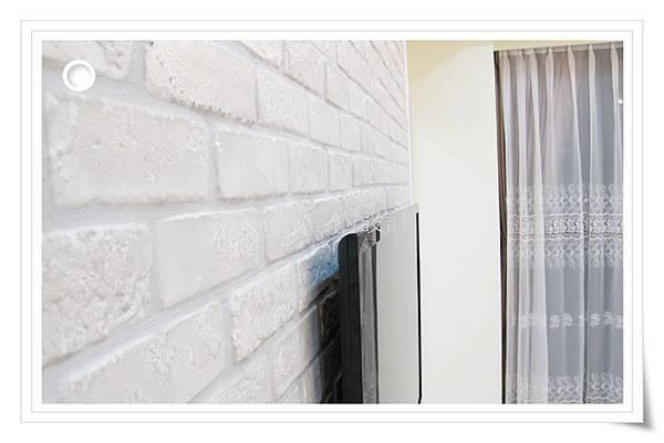 林口室內設計、電視牆文化石裝潢