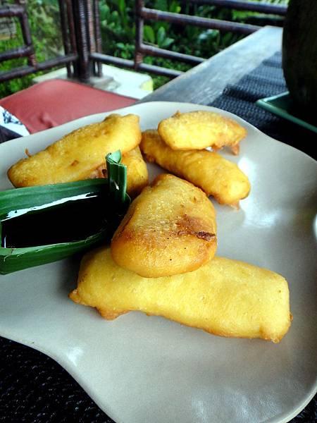 Bali- Teras Padi Fried Banana