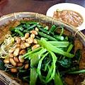 4th Bali- Ayam Batutu炒青菜