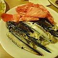 ShabuHouse-dinner豬肉片&蟹腳