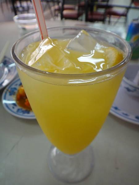 無招牌海鮮餐廳-酸柑水